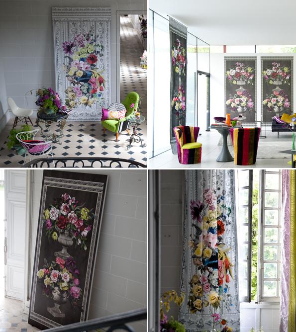 designers guild designers guild kasuri wallpaper orangerie rose lithos designers guild cielo. Black Bedroom Furniture Sets. Home Design Ideas