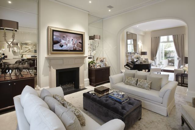 Two et two katharine pooley design team in kuwait for London living room ideas