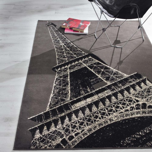 Eiffel Tower Rug Home Decor