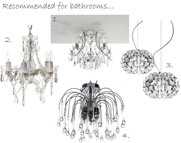 Bathroom Chandeliers Ip44 bathroom chandelier uk