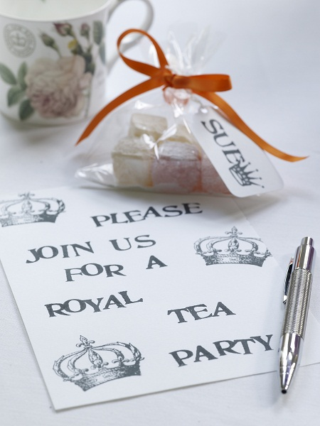 royal wedding party invites. for the Royal Wedding,