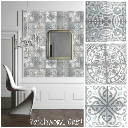 launched earlier this year there are 7 decorative tile designs which