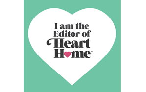 I am the editor-in-chief of Interior Design magazine Heart Home… inspiring readers to create their own great British Homes.