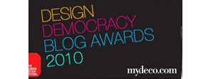 mydeco design democracy blog awards