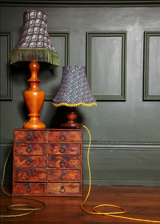 vintage,lampshades,zoe darlington