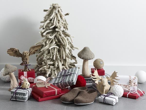 Arredamento stile shabby chic arredare interni ed esterni - Decorazioni natalizie stile shabby chic ...