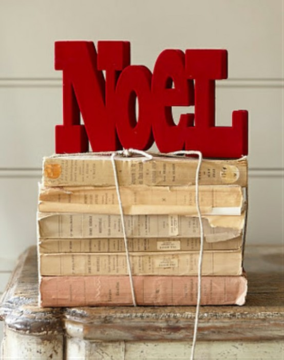 noel,christmas,flock,books,decorations