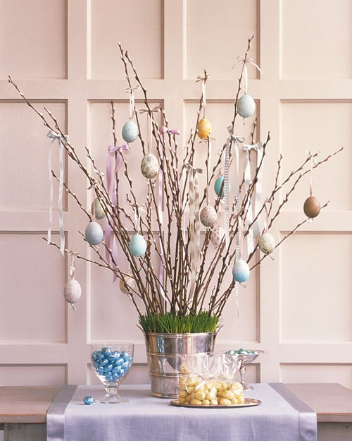Natural decor easter decorating ideas Natural decorating