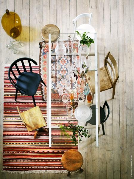 Ikea Kelim ikea buffet of glass dear designer