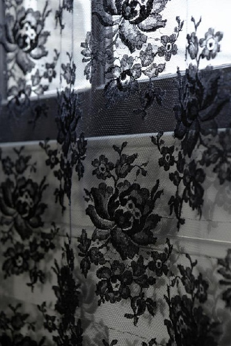 james hare black lace detail