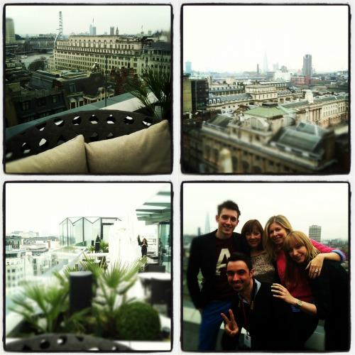 meetthebloggerlondon 2013 ME London roof top bar