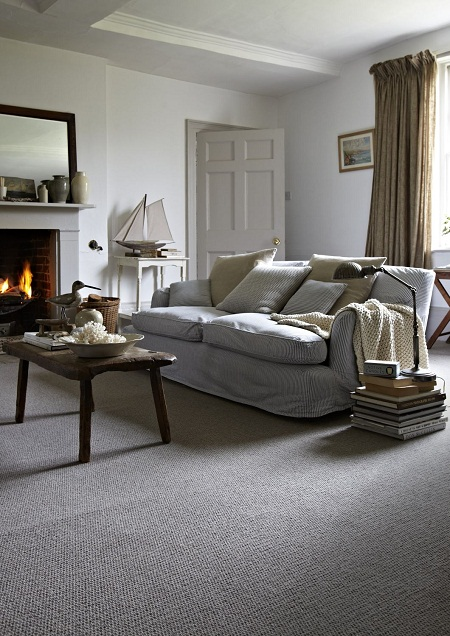 and carpet just warms a whole room up figuratively and quite