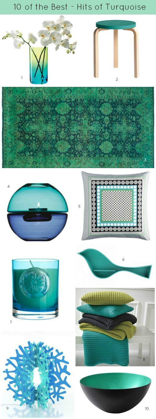 Ten of the Best hits of Turquoise 3