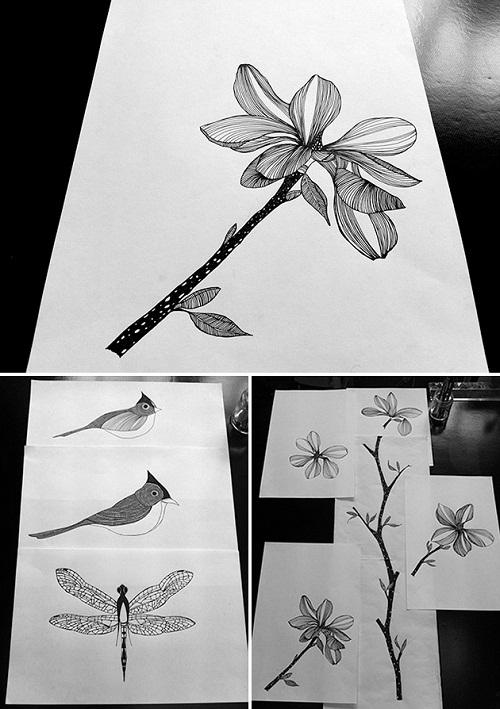 camilla meijer - drawings