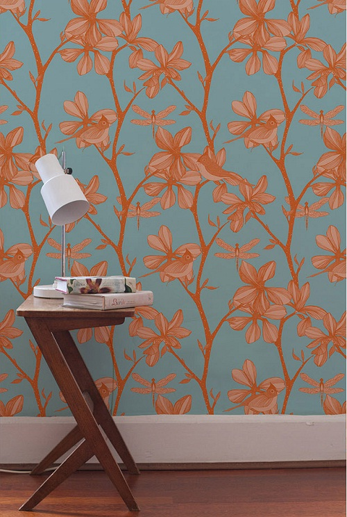camilla meijer - the english garden wallpaper