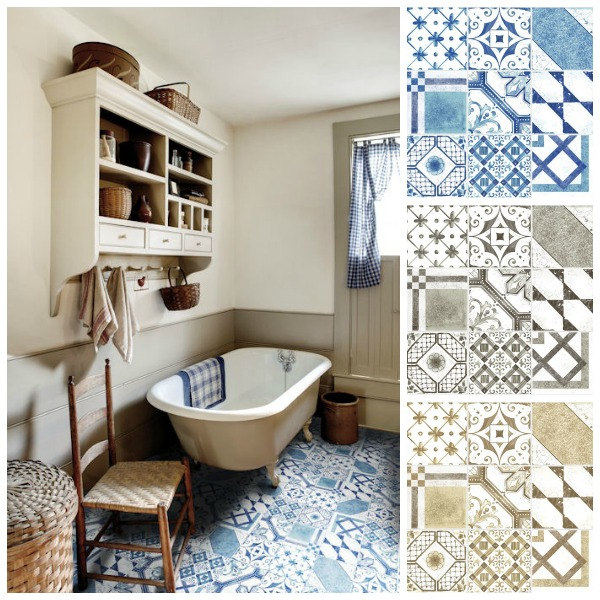 Innovative How About Bringing Some Of That Cool, Glazed Pattern Into The Bathroom Or Fireplace At Home? Moroccan And Mediterranean Patterned Tiles Are Now Widely Available In The UK, And With A Few Expert Tips, You Can Have A Little