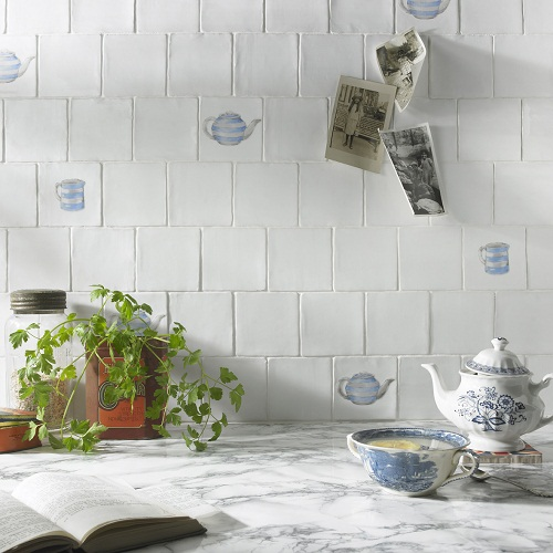 Teapot Decors - British Ceramic Tile's Character collection