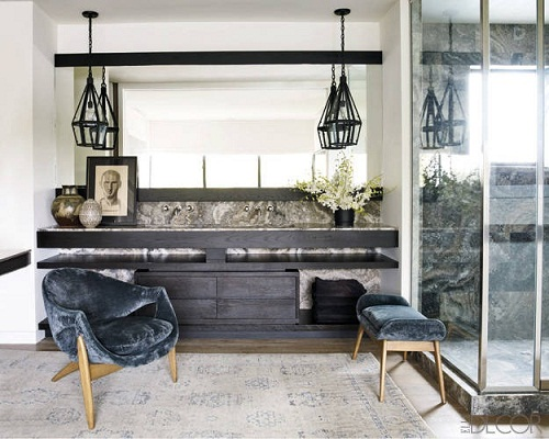 courtney cox via elle decor