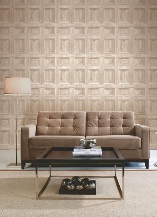Fine Decor Wood Panel Wallpaper Cream, Light Beige - I love wallpaper