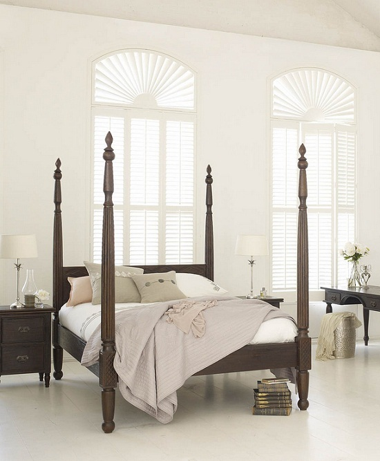 Five of the best pencil post beds - Four poster bedroom sets for sale ...