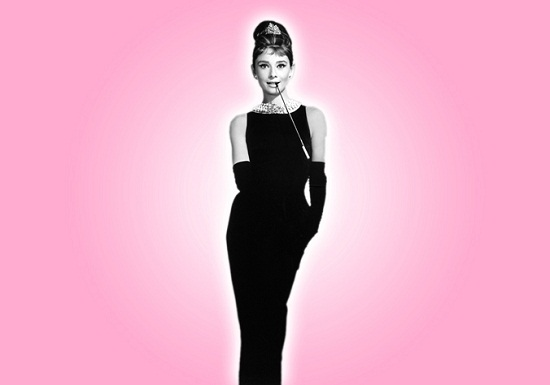 icon-audrey-hepburn-pink-from Whats on your Wall