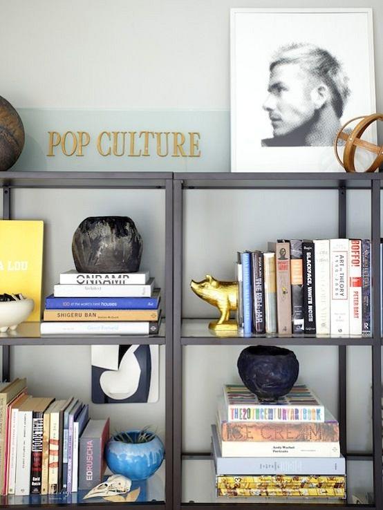 The vittsjo shelves from ikea dear designer for Metal bookends ikea