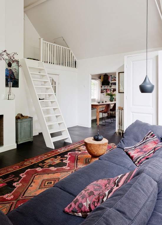 An artists studio apartment in the Netherlands