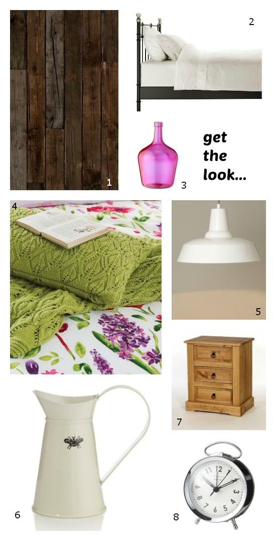 Colourful Bedroom Update for Spring from Dear Designers Blog