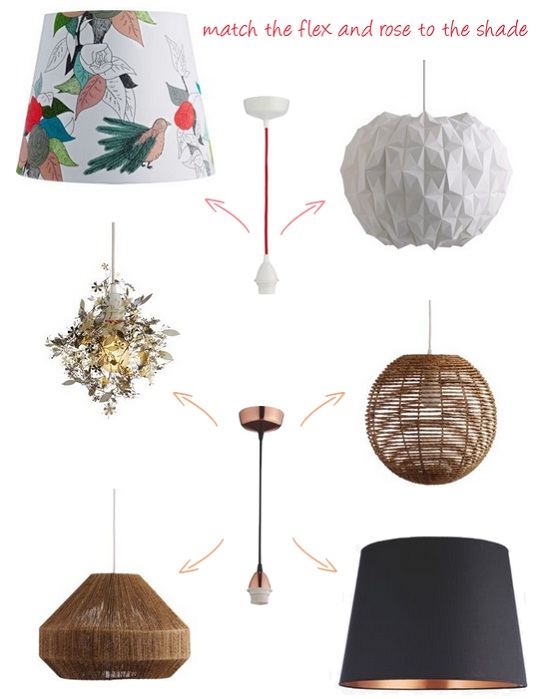 Habitat Pendant Lights from Argos