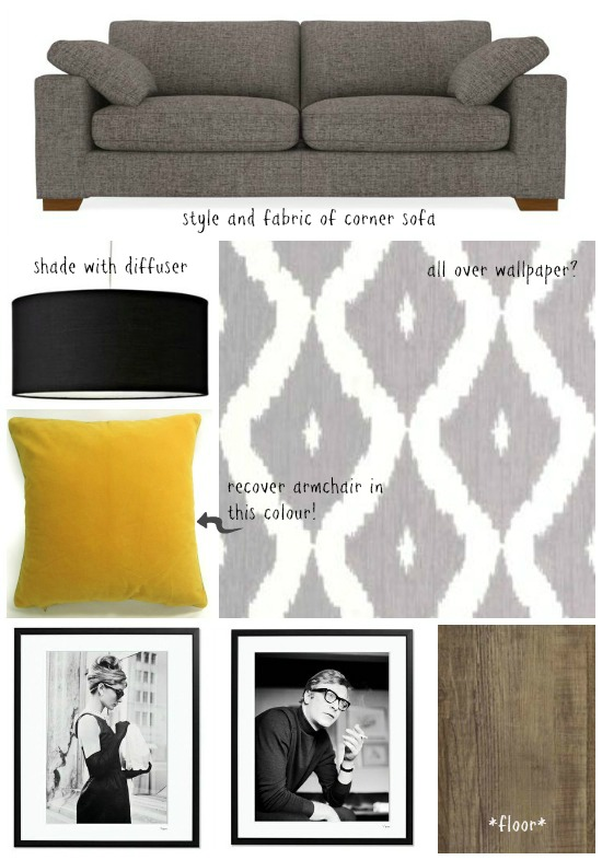 Sitting Room Moodboard 1 - Dear Designers Blog