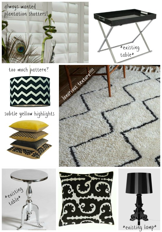 Sitting Room Moodboard 2 - Dear Designers Blog