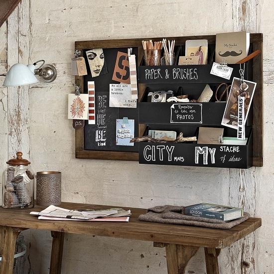 Design Vintage SS14 - Blackboard Organiser