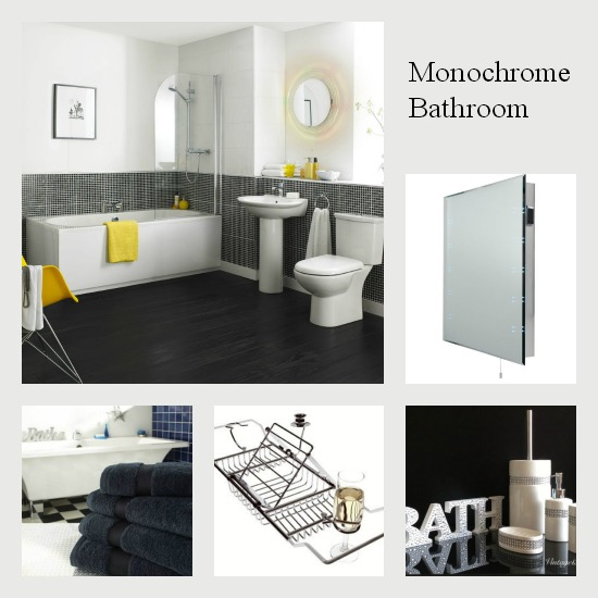 Ebay Collections - Dear Designers - Monochrome Bathroom