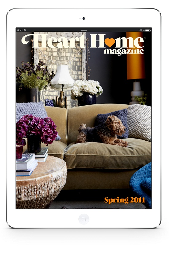 Heart Home magazine iPad App Spring 2014 Issue