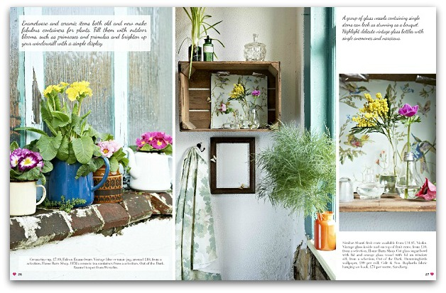Heart Home magazine - Issue 11 - April 2014 - Spring Botanicals Feature