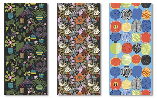 Marimekko Wall Panels from Galerie Wallcoverings 1