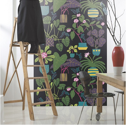 Marimekko Wall Panels from Galerie Wallcoverings