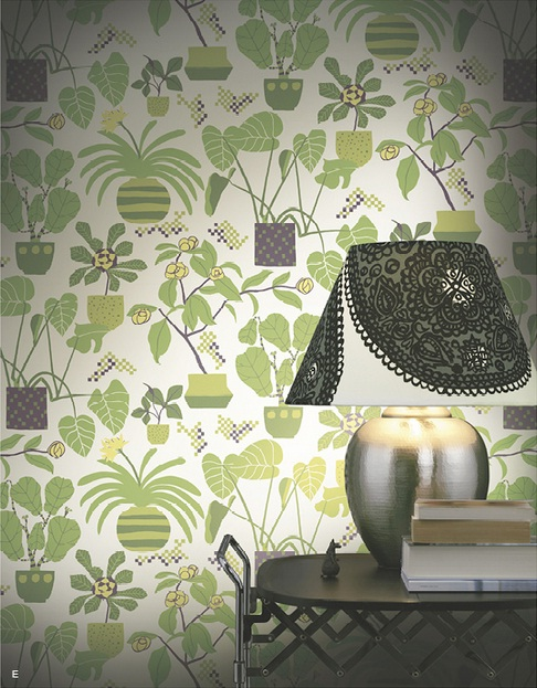 Marimekko Wallpapers from Galerie Wallcoverings 2