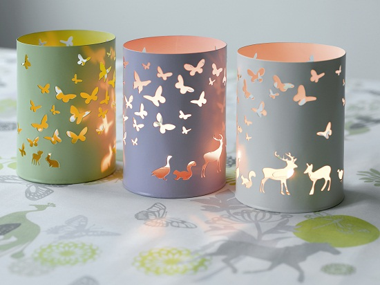 Rikki Tikki Susanne Schjerning Hurricane Candle Holders £16.95