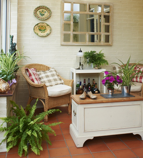 Dear Designer's Conservatory photographed by Andrew Boyd for Heart Home magazine