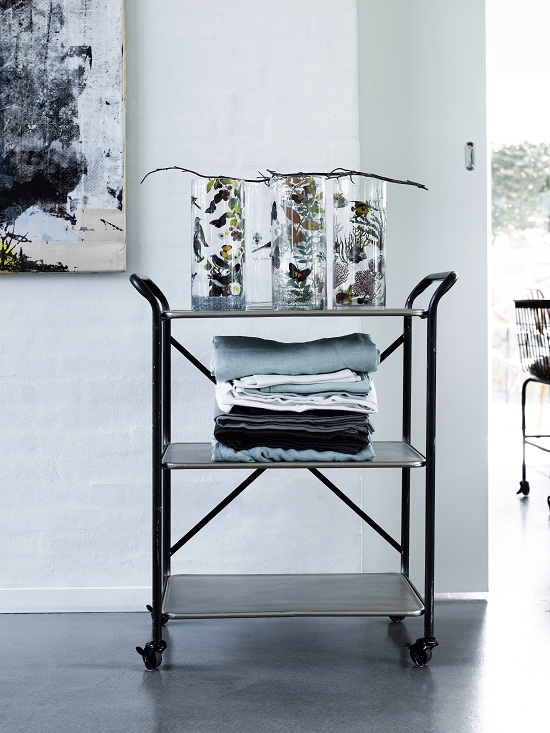Out There Interiors - Three Tier Trolley (Teresita) £275