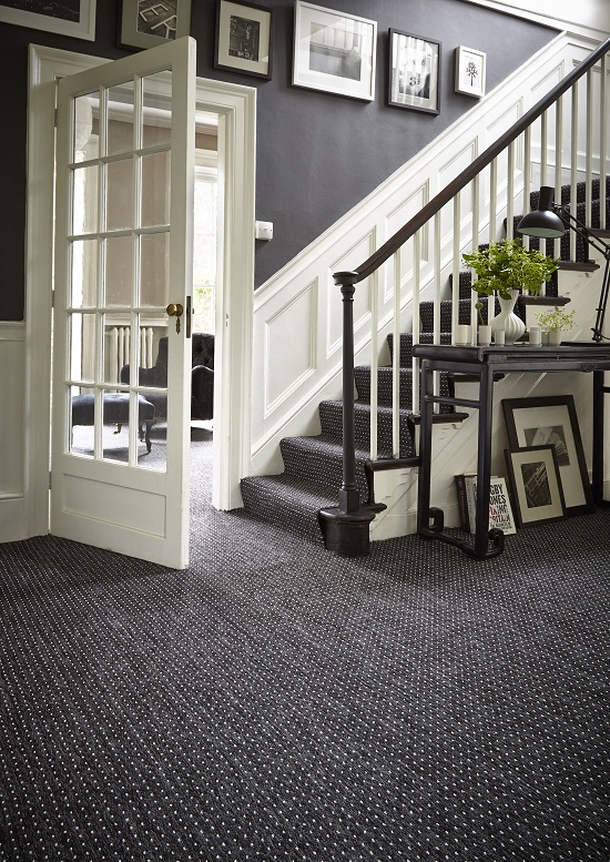 Carpetright, Ashby Anthracite Carpet £5.99m2