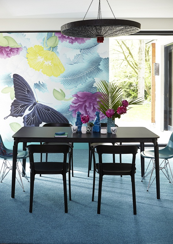 Carpetright, Carousel Twist Turquoise Carpet £13.99m2