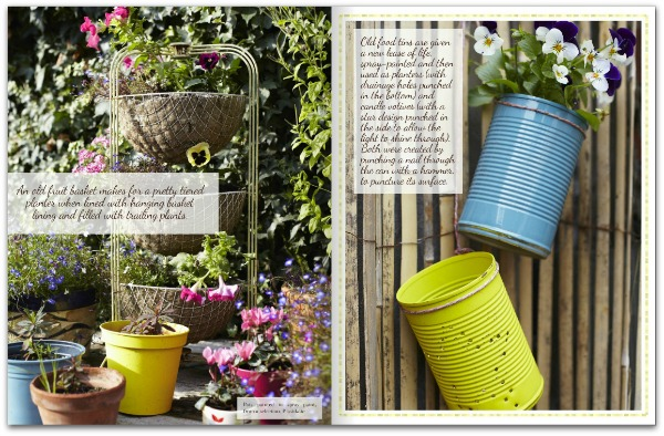 Heart Home magazine July 2014 - Garden Feature styled by Joanna Thornhill, photographed by Rita Platts