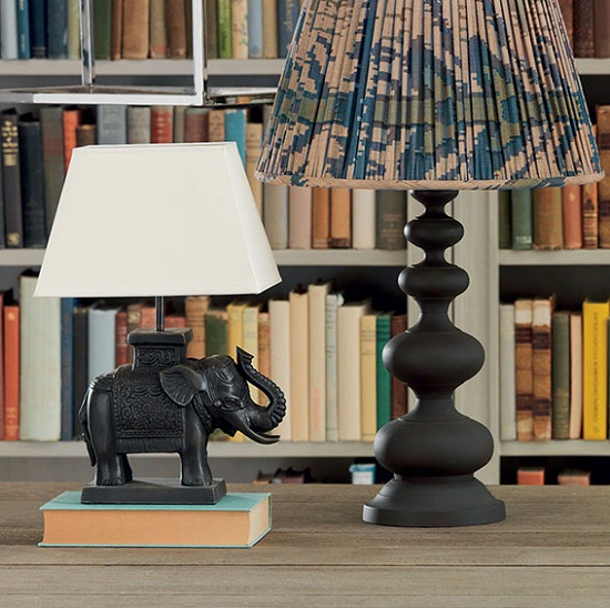 Lighting up autumn nights with oka direct dear designer oka bronze elephant desk lamp aloadofball