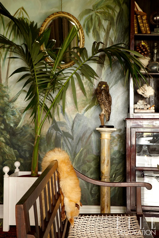 Plantation style house in SA via Elle Decoration. Photographs by Inge Prins [1]