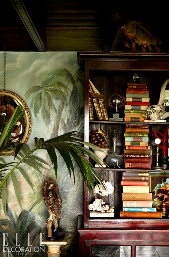 Plantation style house in SA via Elle Decoration. Photographs by Inge Prins [3]