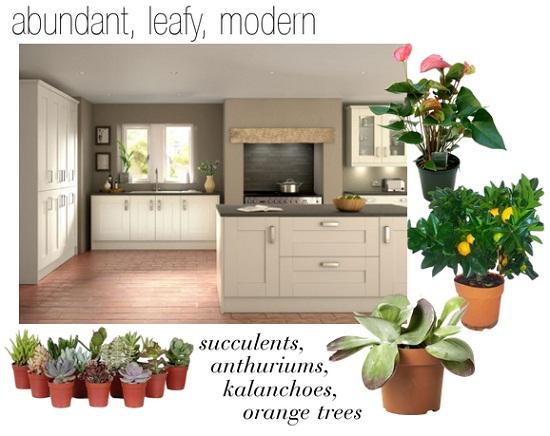 Plants in the Kitchen via Dear Designer's Blog [3]