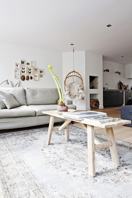 A city apartment in Amsterdam via VT Wonen [1]
