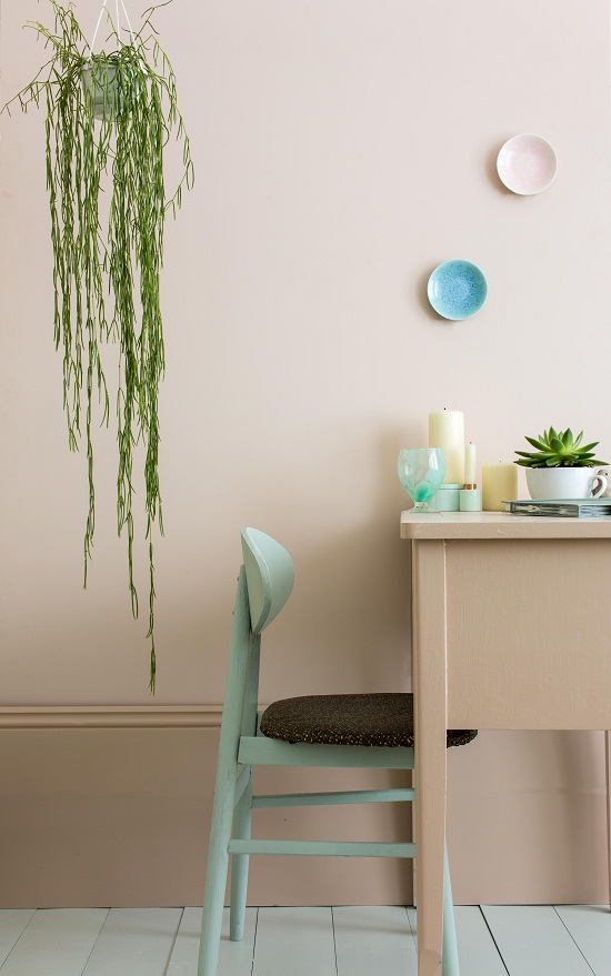 Farrow and Ball paint colours 2015 - Pink Ground